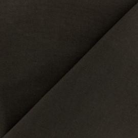 Tissu Coton uni marron x 10cm