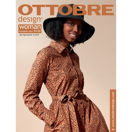 Ottobre Design Woman Sewing Pattern - 2/2019