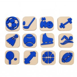 Foam Children Stamp (Pack or 12) - Gymnast