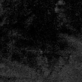 Faux fur fabric - Black Castorini x 10cm