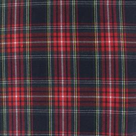 Tissu tartan écossais Howard - bleu marine x 10cm