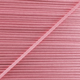 Rattail cord 2,5 mm - Coral Pink
