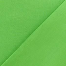 Tissu Coton uni anis