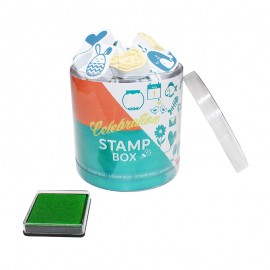 Scrapbooking Stamps (Box or 32) + Ink Pad - Celebration
