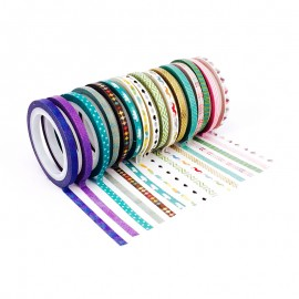 Mini Masking Tape (16 Pack) - Poetry
