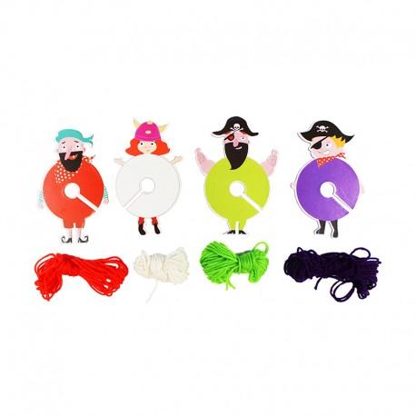 Little Sailors Pompom Kit (Pack of 12)