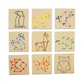 Kit String Art (10 planches)
