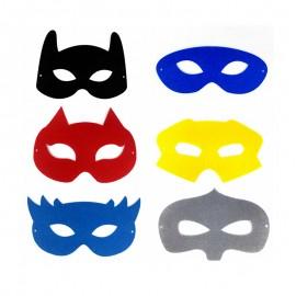 Masque en Feutrine à Customiser (Pack de 12)