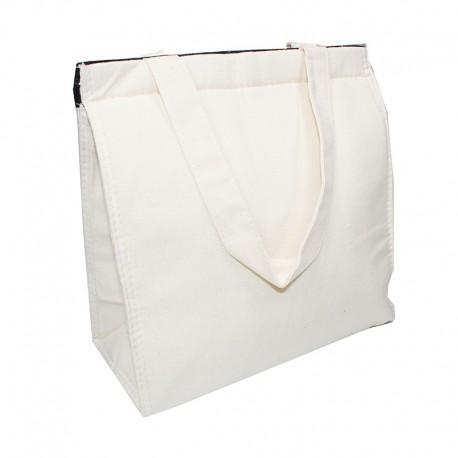25 x 24 x 12 cm Lunch Cooler Bag - Natural