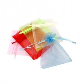 Small Organza Bag (10 Pack) - Multi