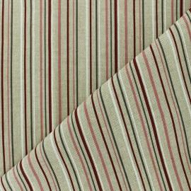 Polycotton fabric - natural Romantic stripes x 10cm