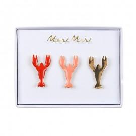 Meri Meri Enamel Pins - Lobster