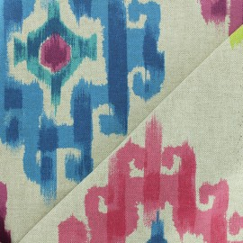 Polycotton fabric - Air/Natural Aztec x 30cm