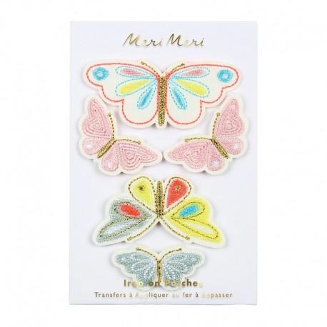 Meri Meri Iron On Patch - Butterfly