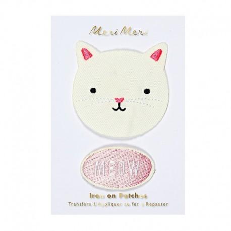 Meri Meri Iron On Patch - Cat