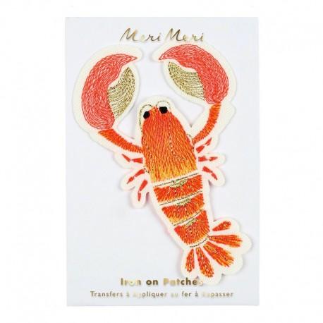 Meri Meri Iron On Patch - Lobster