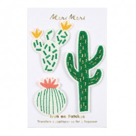 Meri Meri Iron On Patch - Cactus