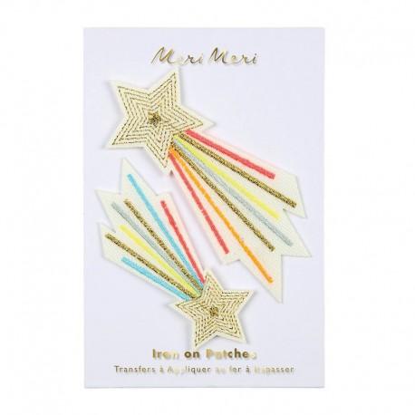 Meri Meri Iron On Patch - Shooting Star
