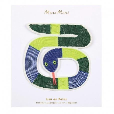 Meri Meri Iron On Patch - Snake