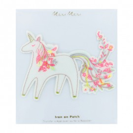 Large Meri Meri Iron On Patch - Unicorn