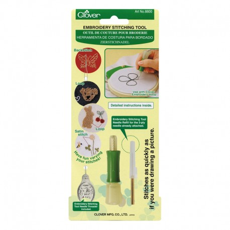 Embroidery Stitching Tool - Clover Punch Needle