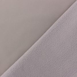 Tissu Softshell uni - Rose camay x 10cm