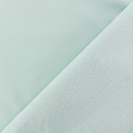 Tissu Softshell uni - vert mint x 10cm