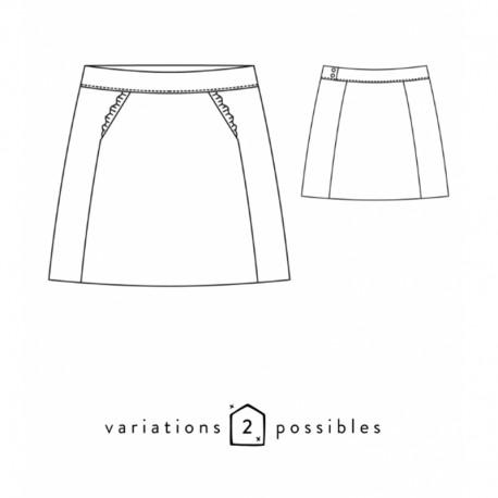 Skirt Sewing Pattern - Scämmit Novembre