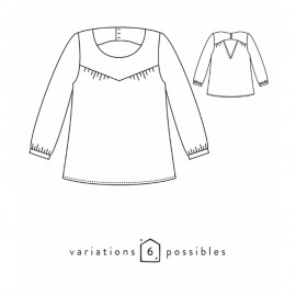 Blouse Sewing Pattern - Scämmit Artesane