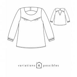 Blouse Sewing Pattern - Scämmit Artesane