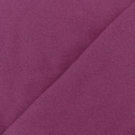 Plain Cotton security blanket - light purple x 10cm