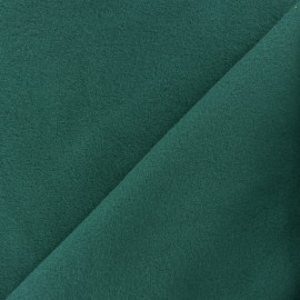 Plain Cotton security blanket - Emerald green x 10cm