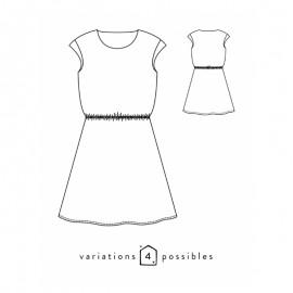 Blouse or Dress Sewing Pattern - Scämmit Tokyo
