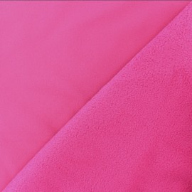 Water-repellent Softshell fabric – Fuchsia pink x 10cm