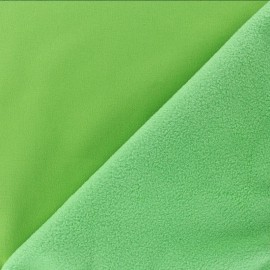 Water-repellent Softshell fabric – apple  green x 10cm