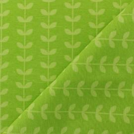 Tissu polycoton Scandi pop - vert x 10cm