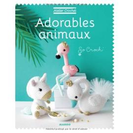 """Livre """"Atelier Crochet - Adorables Animaux"""""""