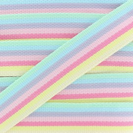 40 mm Polyester Strap - Popsicle Candy x 50cm