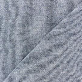 Tissu Maille légère Mia - bleu x 10cm