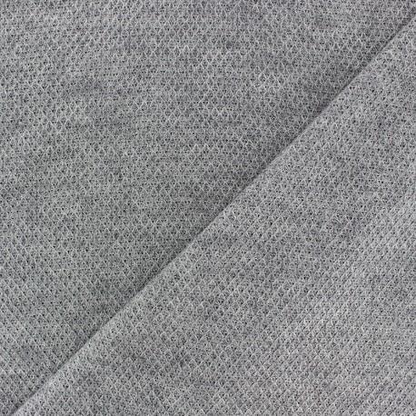 Tissu Maille légère Mia - gris foncé x 10cm