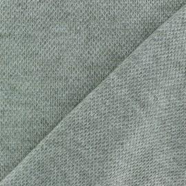light knitted Fabric - khaki green Mia x 10cm