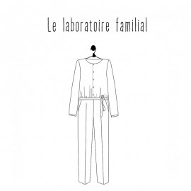 Jumpsuit Sewing Pattern - Le laboratoire familial Anouk