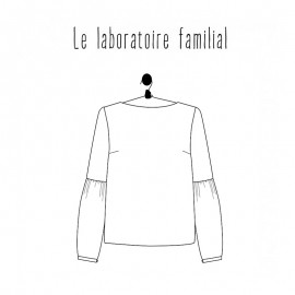 Blouse Sewing Pattern - Le laboratoire familial Grace