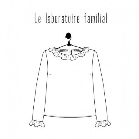 Patron Femme Le laboratoire familial Blouse - Gisèle