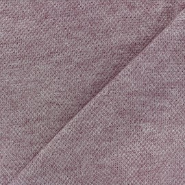 light knitted Fabric - light purple Mia x 10cm
