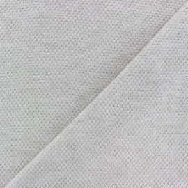 Tissu Maille légère Mia - Sable x 10cm