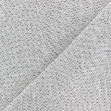 light knitted Fabric - sand Mia x 10cm
