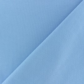 Special Polo cotton fabric - light blue x 10cm