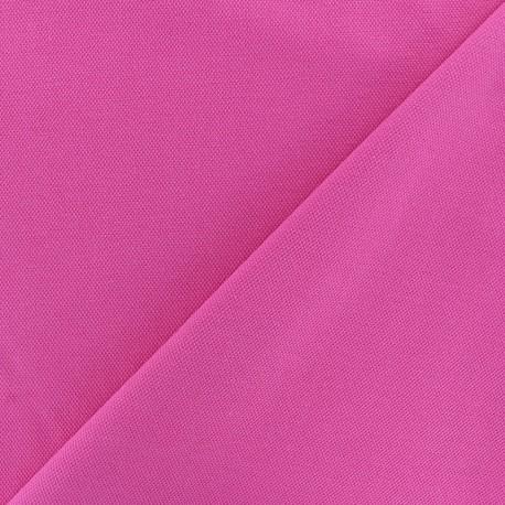 Tissu jersey piqué spécial Polo - rose x 10cm