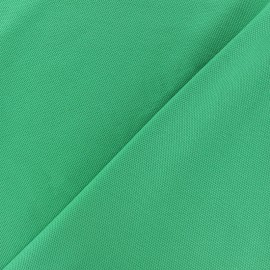 Special Polo cotton fabric - meadow green x 10cm